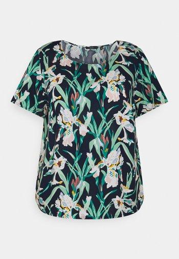 VMSIMPLY EASY  - T-shirts med print - navy blazer