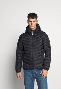 Hollister Co. - Winter jacket - black - 0