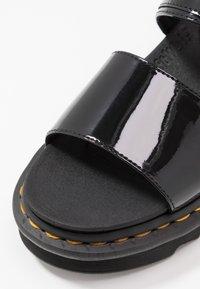 Dr. Martens - VOSS - Platform sandals - black - 2