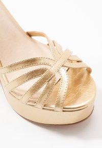 Vero Moda - VMTHEA - High heeled sandals - pale gold - 2