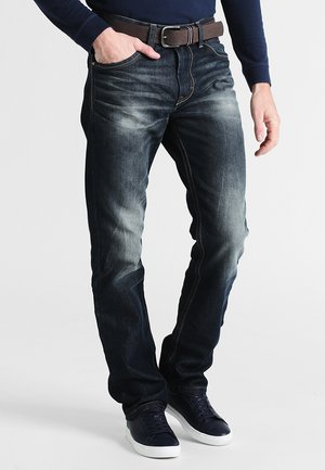 TRAD - Relaxed fit jeans - dirty dark stone wash