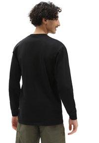 Vans - MN LEFT CHEST HIT LS - Långärmad tröja - black/waterfall - 1