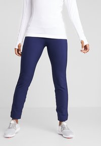 Puma Golf - PWRSHAPE PULL ON PANT - Outdoor trousers - peacoat - 0