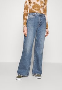 Topshop - Jeansy Relaxed Fit - blue denim - 0