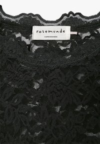 Rosemunde - T-SHIRT LS - Bluser - black - 3