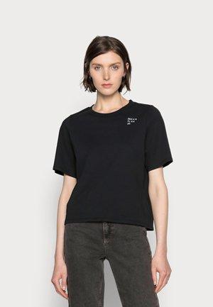 HAPINESS - T-shirt med print - black