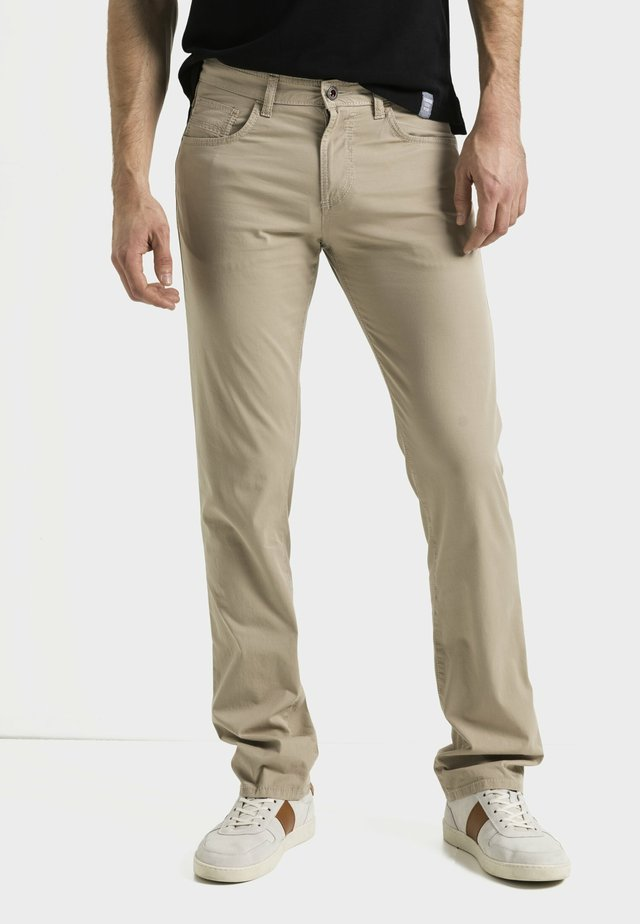 IM 5-POCKET-STYLE - Trousers - beige