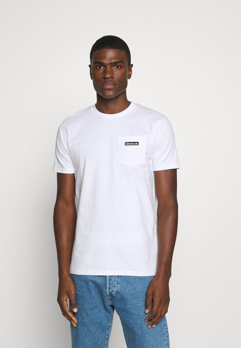 Ellesse - MELEDO - T-shirts basic - white