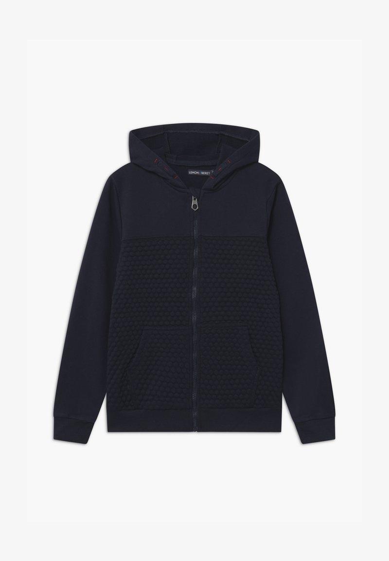 Lemon Beret - TEEN BOYS - Zip-up hoodie - navy blazer