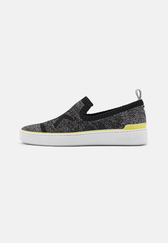 SKYLER  - Sneakers laag - black/silver