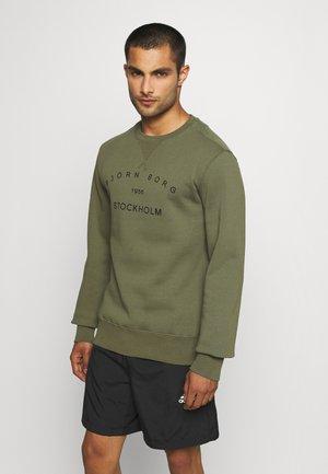CREW - Sweatshirt - ivy green