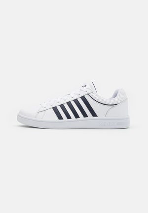 COURT WINSTON - Trainers - white/navy