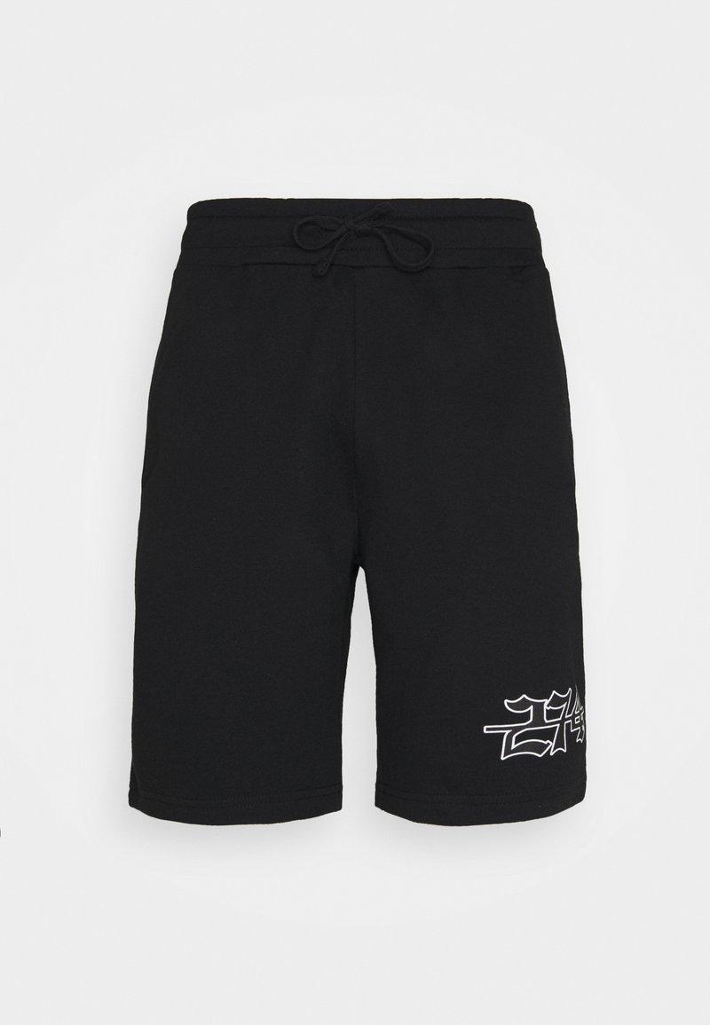 274 - APPLIQUE - Shorts - black