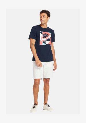Print T-shirt - dark sapphire