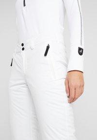 Bogner Fire + Ice - FELI - Spodnie narciarskie - white - 4