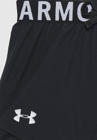 Under Armour - 2-IN-1 SHORTS - Korte sportsbukser - black - 2
