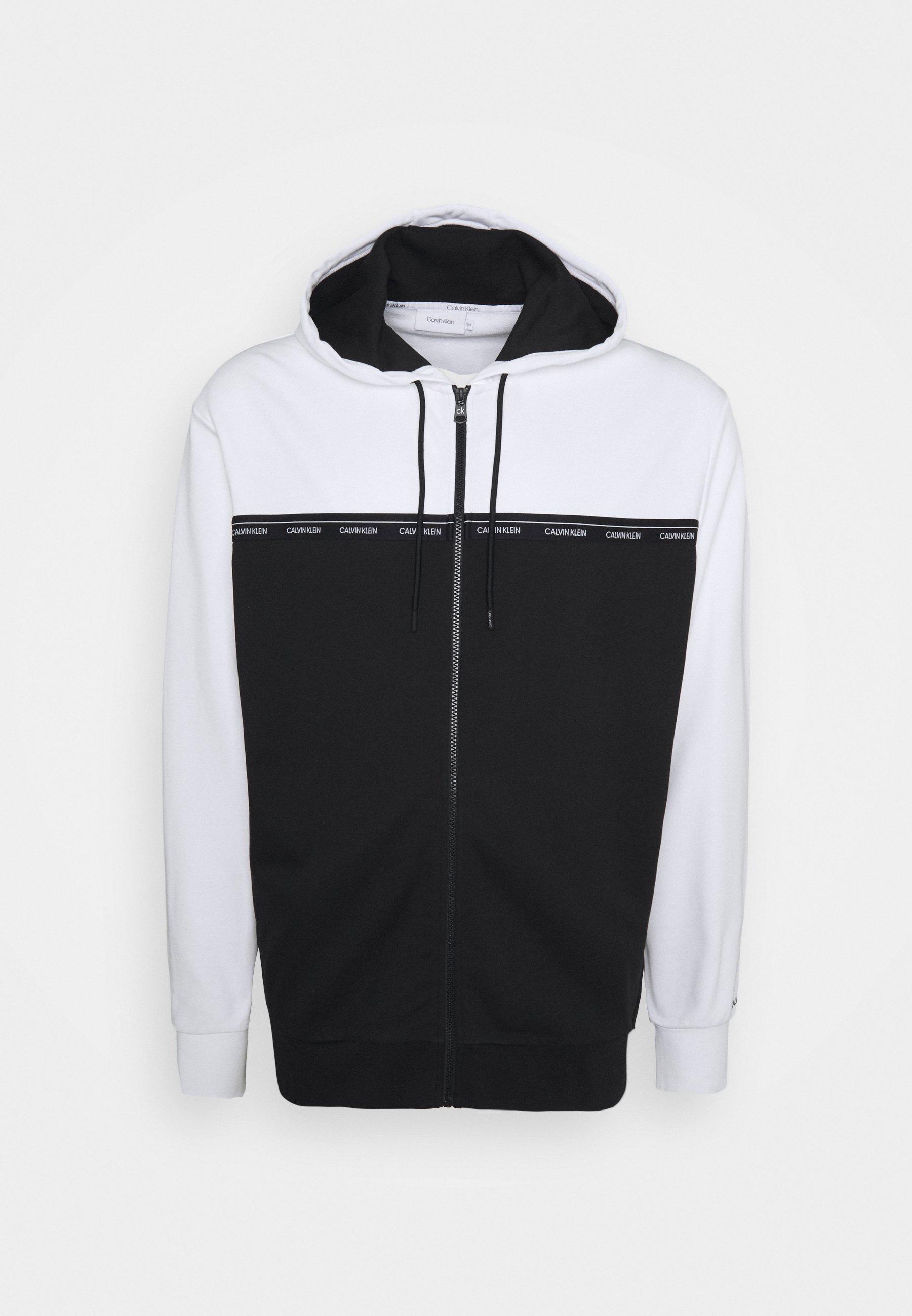 Men LOGO STRIPE ZIP HOODIE - Zip-up sweatshirt