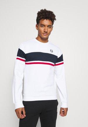 BOSTON - Sweatshirt - white/navy