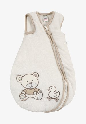NOS BEAR BABY - Baby's sleeping bag - offwhite