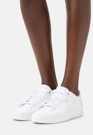 SMASH PLATFORM V2 L - Sneakers basse - puma white