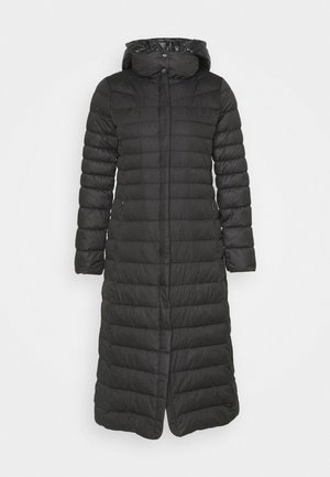 MATTE FINISH COMBO COAT - Down coat - black