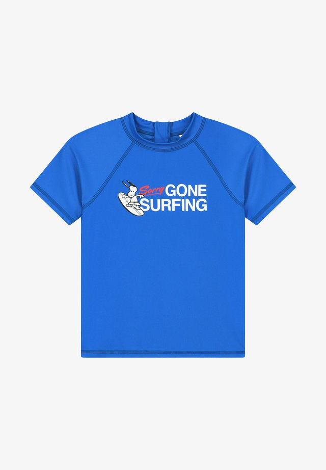 T-shirt de surf - electric blue