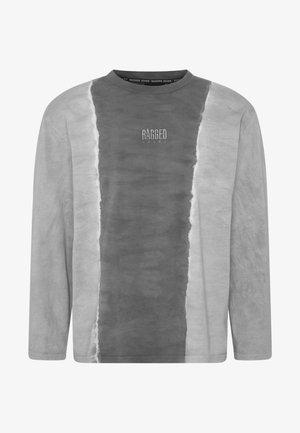 JEANS TWO TONE TEE - Bluzka z długim rękawem - grey