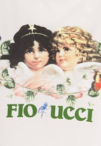 Fiorucci - WOODLAND VINTAGE ANGELS BOXY TEE - T-shirt con stampa - birch - 2