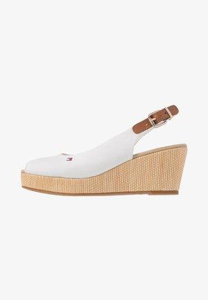 ELBA - Platform sandals - ivory