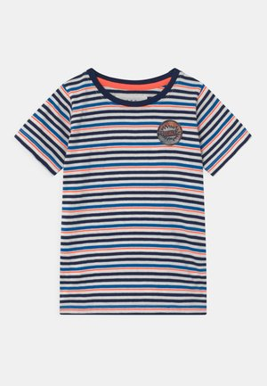 STREIFEN KID - Camiseta estampada - white