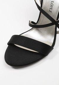 Pura Lopez - Sandály na vysokém podpatku - black - 2