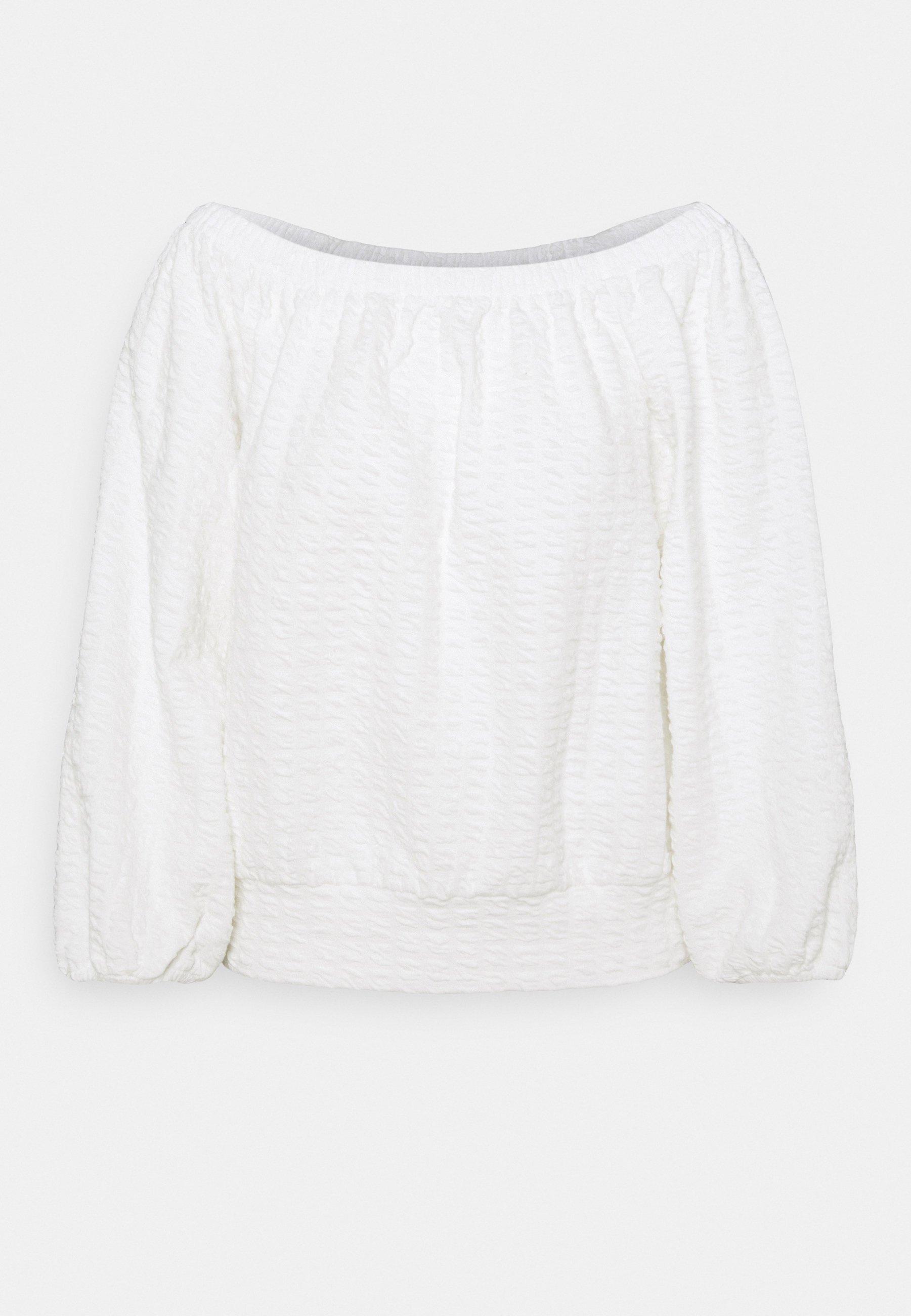 Femme SLFBUBBLE OFF SHOULDER - Sweatshirt