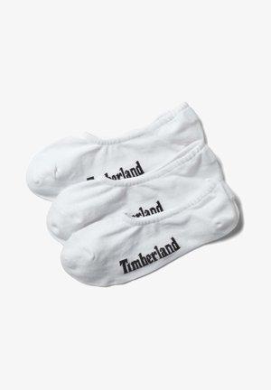 3 PACK - Ankelsockor - white