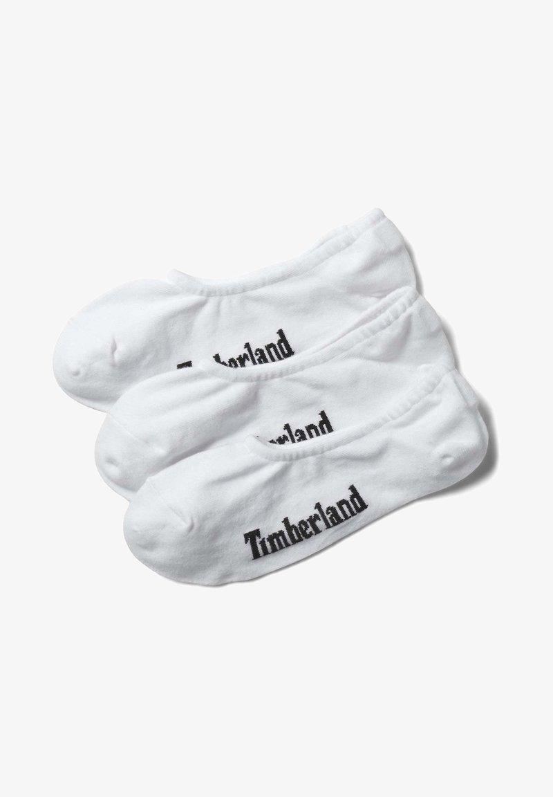 Timberland - 3 PACK - Trainer socks - white