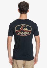 Quiksilver - HIGHWAY VAGABOND - Print T-shirt - black - 2