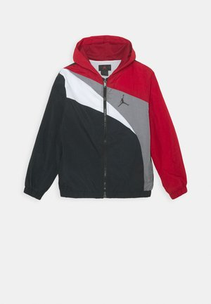 JUMPMAN WAVE WINDBREAKER UNISEX - Sportovní bunda - gym red