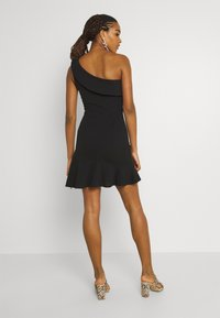 WAL G. - STACEY ONE SHOULDER A-LINE DRESS - Cocktail dress / Party dress - black - 2