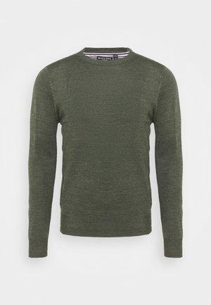 PARSECL - Stickad tröja - khaki