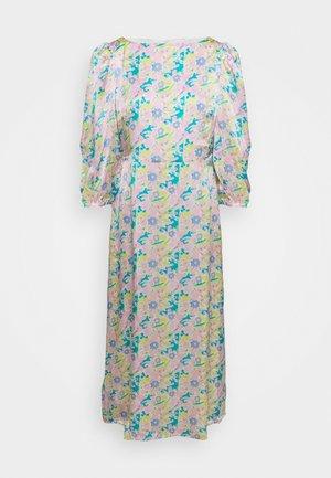 LARA DRESS - Cocktail dress / Party dress - neon floral