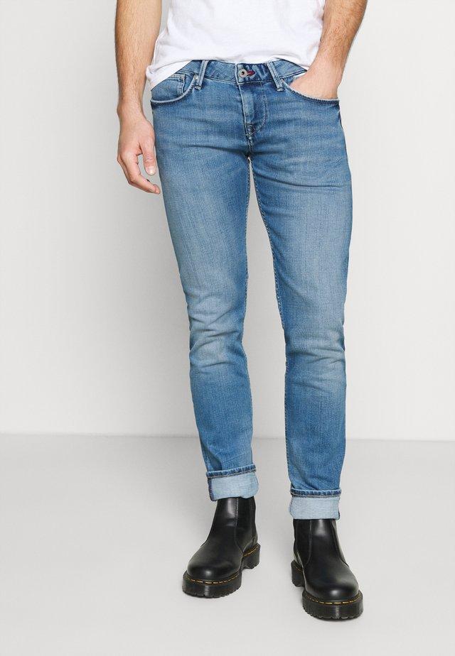 HATCH 2020 - Slim fit jeans - blue denim