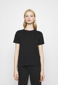 Even&Odd - 2 PACK - T-shirt basic - black/white - 3