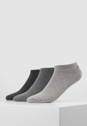 6 PACK - Trainer socks - grey/black