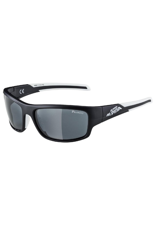Sports glasses - black matt-white (a8566.x.31)