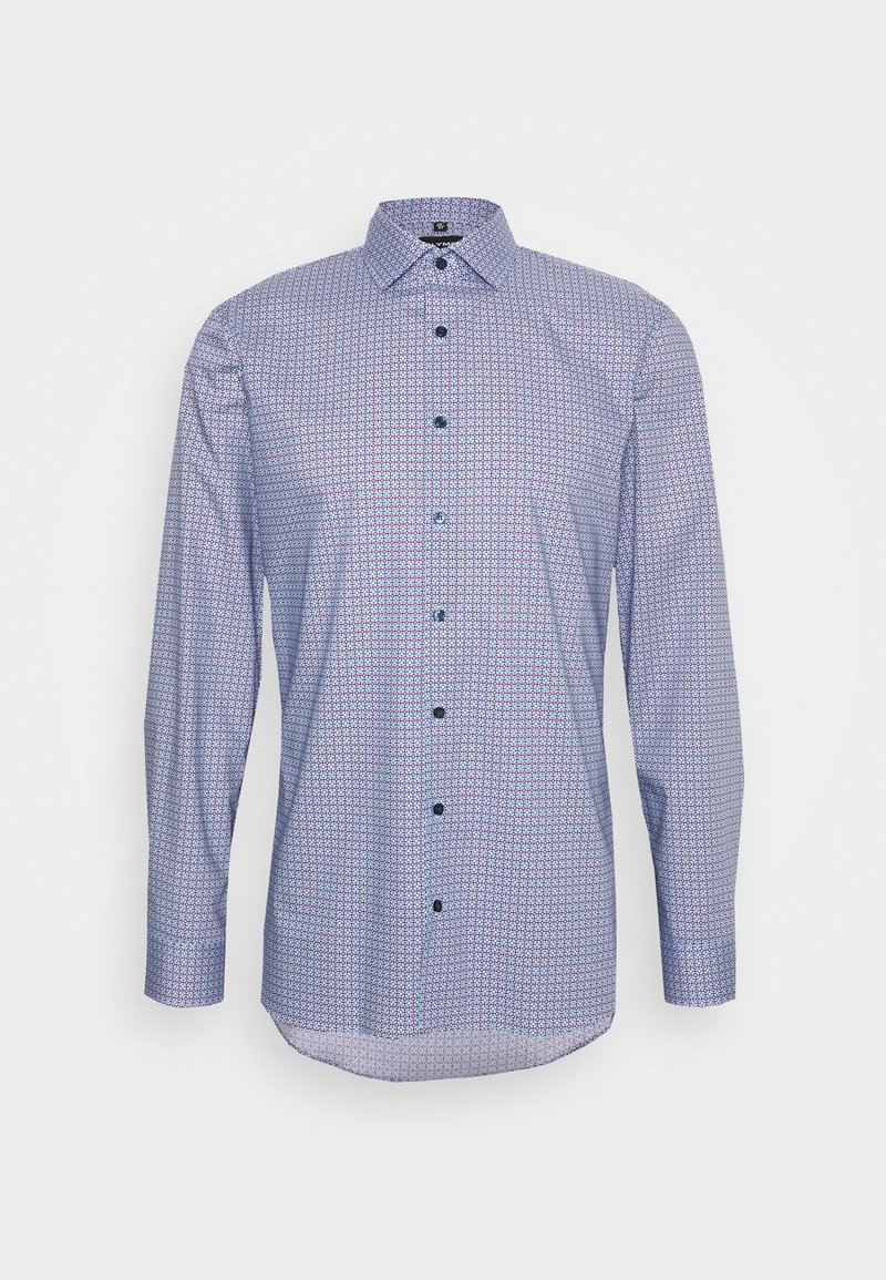 OLYMP No. 6 - Businesshemd - dunkelrot/hellblau 3mxyN0