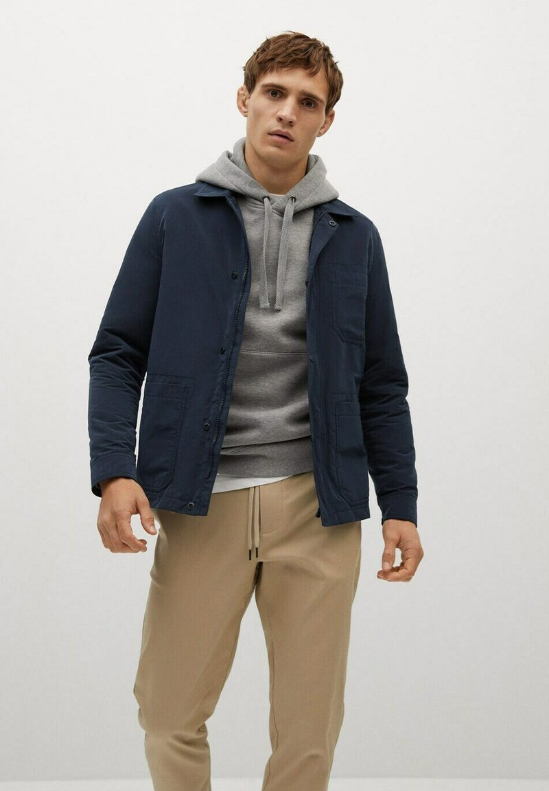 Mango - ANTIBES - Summer jacket - dunkles marineblau