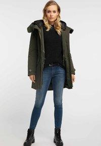 DreiMaster - Winter coat -  olive - 1