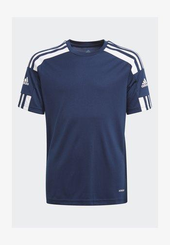 SQUAD UNISEX - T-shirt z nadrukiem - team navy blue/white