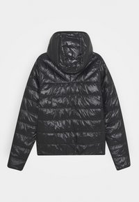BOSS Kidswear - REVERSIBLE PUFFER JACKET - Bunda zprachového peří - black/orange - 1