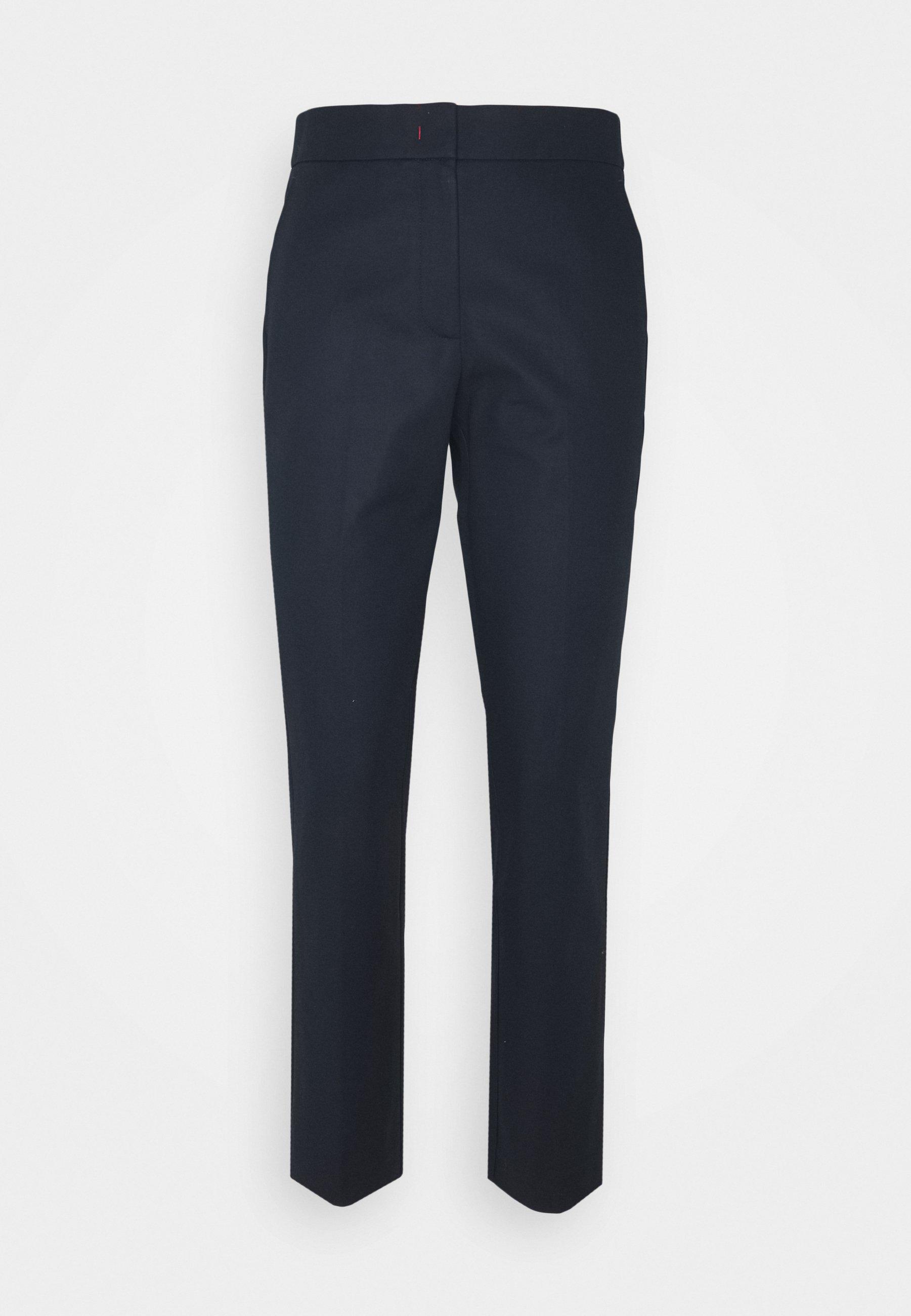 Femme SLUB ANKLE PANT - Pantalon classique