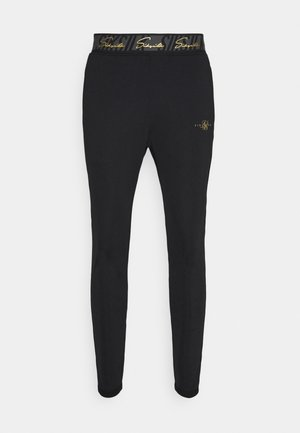 SCOPE TAPE TRACK PANT - Spodnie treningowe - black